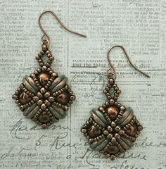 Tara Earrings - Chocolate Bronze