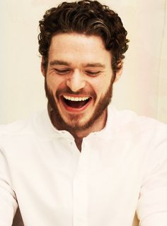 When a Richard Madden smiles an angel gets its wings.