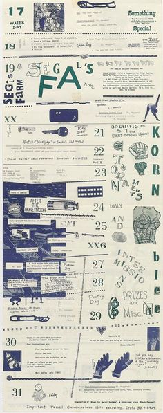 Fluxus Kurt Schwitters, Fluxus Art, Magazine Cover Layout, Teen Library, Typography Layout, Information Design, Layout Template, Pictogram, Mail Art