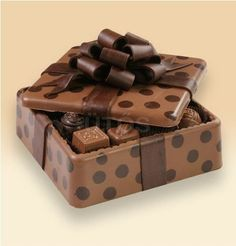 The above Chocolate boxes are made with Chocolates. So you can eat the boxes also. Next time, try to buy these Chocolates and gift i. Chocolate Bonbon, Chocolate Dreams, Death By Chocolate, I Love Chocolate, Chocolate Heaven, Chocolate Shop, Like Chocolate, Chocolate Coffee, How To Make Chocolate