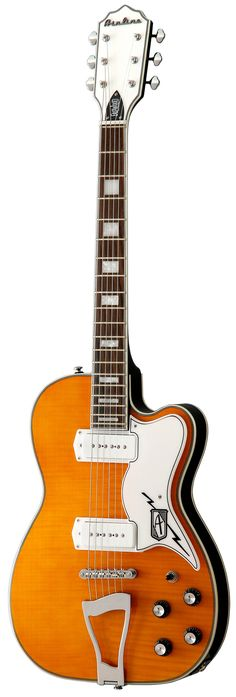 Eastwood Airline Deluxe Electric Guitar