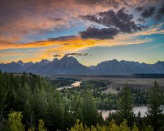Grand Teton Photography Mountain Wyoming by DeepLightPhotography