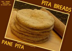Sweet and That's it: Pita Breads - Pane Pita Baking With Julia, Pita Bread, Your Recipe, Mondays, Breads, Yummy Food, Cookies, Sweet, Desserts