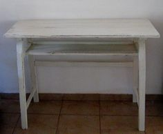 Vintage entry table hallway table narrow by Underlyingsimplicity, $170.00