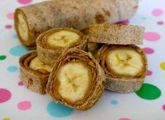Bananer i tortilla