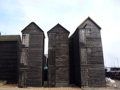 Net and tackle stores on Hastings beach - Hastings Old Town - Wikipedia, the free encyclopedia