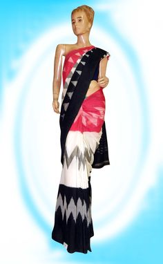 3D Ikkat saree with Temple weaving Price: 2360/- (For Bulk Buyers / Wholesale / Boutiques / Retail shops for any trade inquiries Please contact Immediately our  WhatsApp no: 8801302000)