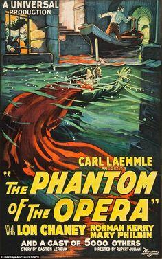 200.000€ comprado el Fantasma de la Opera !! precioso póster.