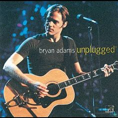 Bryan Adams' acoustic guitar with bigsby tailpiece