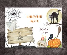 Halloween Kids, Halloween Party, Halloween Illustration, Trick Or Treat, Svg File, Packaging Design, Web Design, Pumpkin, Clip Art