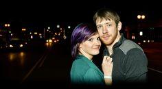 Couples, nightlife, night, Michigan, Michigan photographer, love, engagement, wedding, Michigan wedding, Lansing
