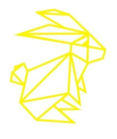 Origami Konijn Silhouette Portrait, Silhouette Cameo, Stencil Art, Stencils, Creation Art, Tape Art, 3d Pen, Wedding Prints, Art Graphique