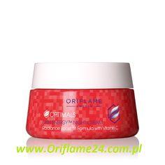 Optimals Skin Energy Night Cream - Krem na noc Optimals Skin Energy Oriflame. Nawilżający krem na noc z minerałami głęboko nawilża i przywraca skórze energię. Budzi ją do życia i sprawia, że wygląda świeżo i promiennie. Zawiera również witaminę C o właściwościach zmiękczająco-ochronnych. 50 ml