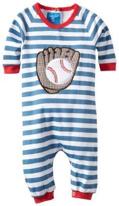 Mud Pie Newborn Baby-Boys Baseball Sleeper