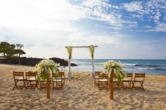 Hawaiian dream wedding...