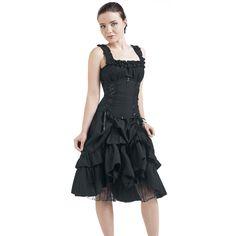 Poizen Industries  Mittellanges Kleid  »Soul Dress« | Jetzt bei EMP kaufen | Mehr Gothic  Mittellange Kleider  online verfügbar ✓ Unschlagbar günstig!