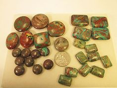 Close Out Beads Turquoise Jasper Grab Bag Assortment by FLcowgirls, $4.75