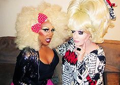 RuPaul &Lady Bunny The pre Mathu days for Ru haha. The rotted skunk Lady Bunny as well.