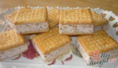Margot zmrzlinka | NejRecept.cz Cookies, Gelato, Cornbread, Tiramisu, Oreo, Ham, Deserts, Food And Drink, Ice Cream