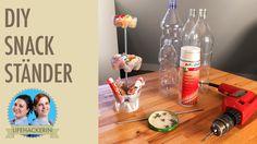 Snackständer aus PET-Flaschen I DIY-Etagere I Upcycling