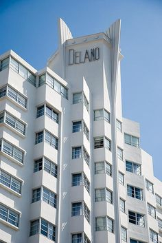 The Delano Hotel in Miami I've always wanted to go here