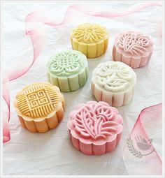 Snowskin Mooncakes 冰皮月饼 (2012)   Anncoo Journal - Come for Quick and Easy Recipes