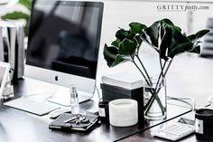 Renowned fashion blogger Sara Donaldson and PR guru Georgia Martin showcase their enviable minimalist Sydney office.