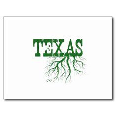 Texas Roots Postcard