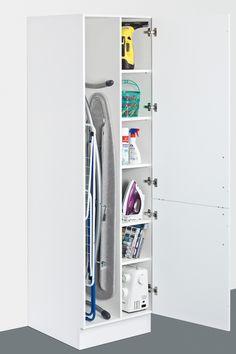 Ironing board & storage unit