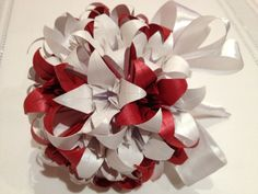 Origami lily bouquet