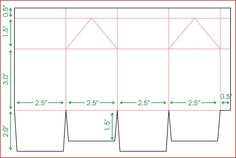 ... milk carton holder with score lines and dimensions milk carton