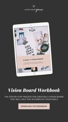How To Create A Vision Board To Help You Achieve Your Goals. // Notes from Joana Focus On Your Goals, Achieve Your Goals, What Makes You Happy, Are You Happy, Goal Board, Creating A Vision Board, Joy And Happiness, Some Words, As You Like