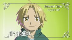 Edward Elric-11 years old