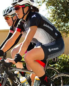 Cycling, meet Yoga.  This is great news for women cyclists...Go Team Specialized/Lululemon!