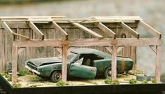 Ran good when parked . by on DeviantArt Model Cars Kits, Kit Cars, Voitures Hot Wheels, Toy Garage, Model Cars Building, Chevy Models, Custom Hot Wheels, Plastic Model Cars, Diecast Model Cars