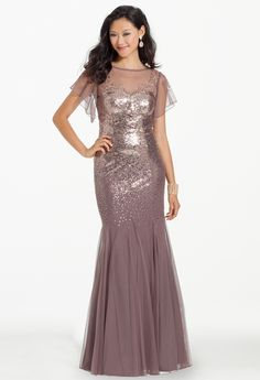 Sequin Flutter Dress