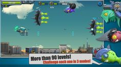 Flight Fight 2 on App Store:   Flight Fight II allows you to challenge more stages defeat more enemies and select from more weapons and characters. Now enjoy the fun of this di...  Developer: Xing Xing  Download at http://ift.tt/1u3zeb2