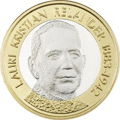 Suomen Presidentit - L.K. Relander, proof Foreign Coins, Old Money, World Coins, Gold, Paper, Silver, Design, Seals, Finland