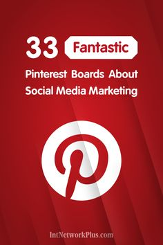Want to keep a lot of great tips in one place? Here are 33 Pinterest boards about social media marketing. Worthwhile content structured by the themes. via @intnetworkplus