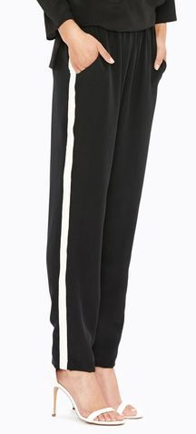 Paola Pant - Black/Ivory by Amour Vert - #sustainable fashion $180