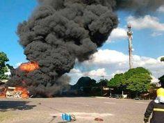 #Brasil,Cidades: Caminhão carregado com dinamite explode no Paraná