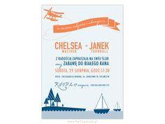 Zaproszenia Ślubne Chelsea - Hello! Prints