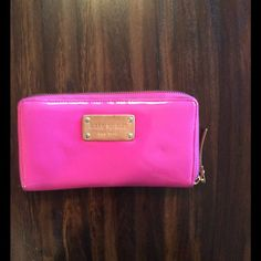 kate spade Pink Wallet Super cute wallet!! Some interior damage but exterior is beautiful!! kate spade Bags Wallets