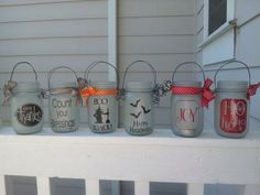 These jars are super simple to make and are adorable to display for every season.