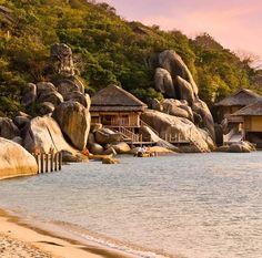 #Six_Senses #Ninh_Van_Bay #Hotel #Vietnam http://en.directrooms.com/hotels/info/1-15-6432-1982/