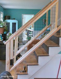 Must See Modern Diy Stair Railing Makeover Tutorial