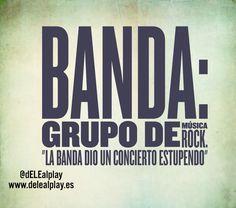 #palabradeldiaELE Banda. ¿Cuál es tu banda favorita?