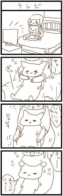owabird Picture Blog: にゃんこ四コマ #6