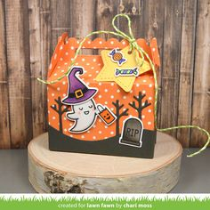 the Lawn Fawn blog: Lawn Fawn Intro: Scalloped Treat Box, Put a Bow on It