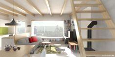 PROJEKTY · Minimální bydlení u Brna  #rodinnydum #brno #drevostavba